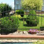 Kovaný plot 1258