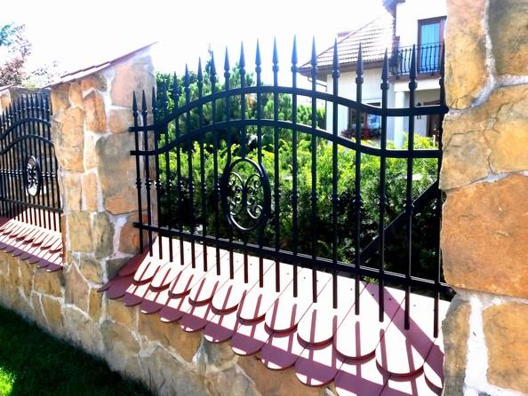 Kovaný plot 26