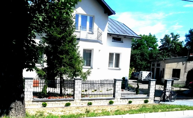 Kovaný plot 27