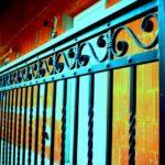 Kovaný plot 7